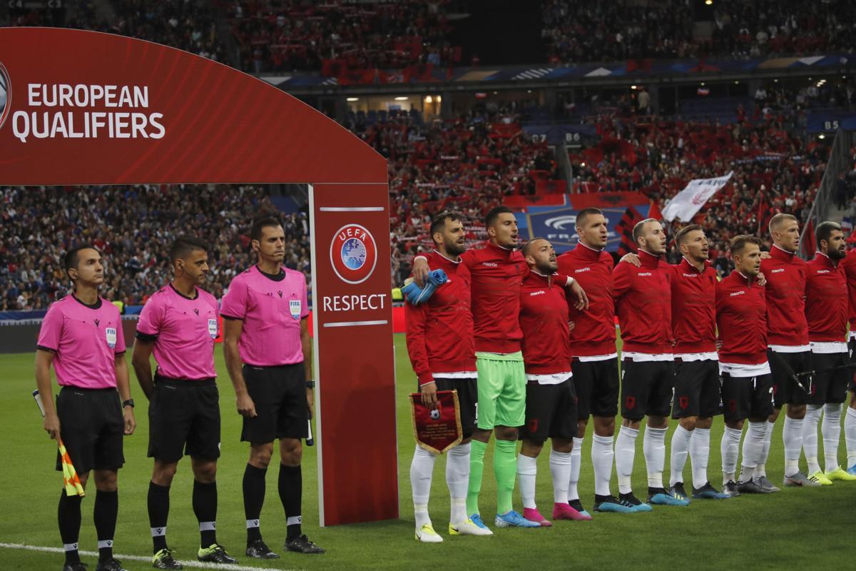 Vòng loại EURO 2020: Phát nhầm quốc ca trong trận Pháp – Albania