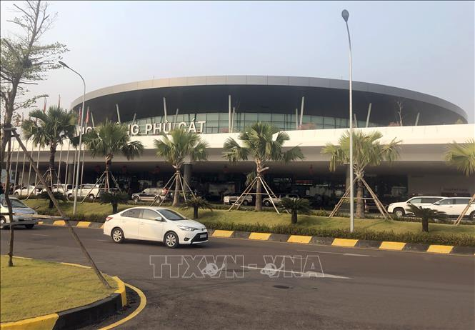 Cảng hàng không Phù Cát dự kiến sẽ đón chuyến bay quốc tế vào cuối tháng 12/2019.