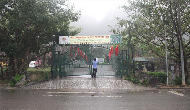 Từ ngày 13/3 tất cả các điểm du lịch ở Ninh Bình tạm dừng đón khách