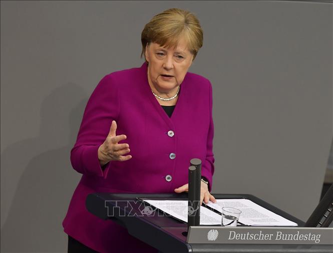 Thủ tướng Đức kêu gọi người dân không chủ quan trước diễn biến dịch bệnh