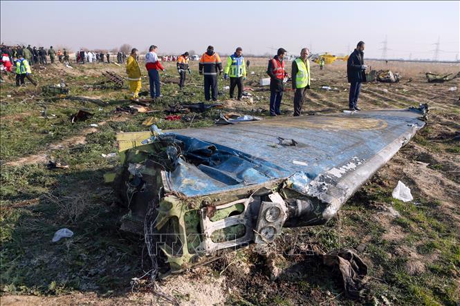 Iran công bố lỗi bắn nhầm máy bay chở khách của Ukraine