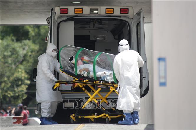 Số ca tử vong do COVID-19 tại Mexico cao thứ 4 thế giới