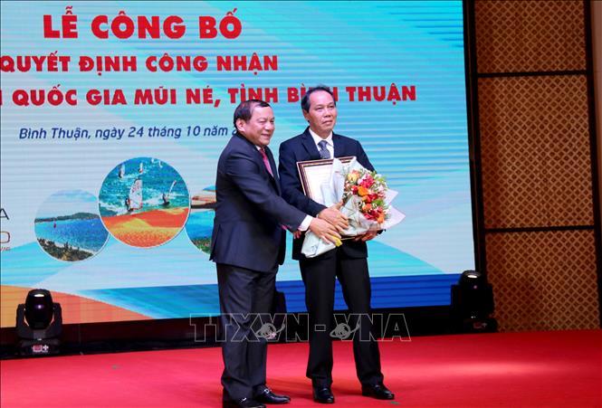 Công bố Khu du lịch quốc gia Mũi Né, Bình Thuận