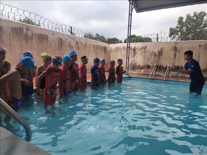 Nâng cao hiệu quả của các hồ dạy bơi trong trường học