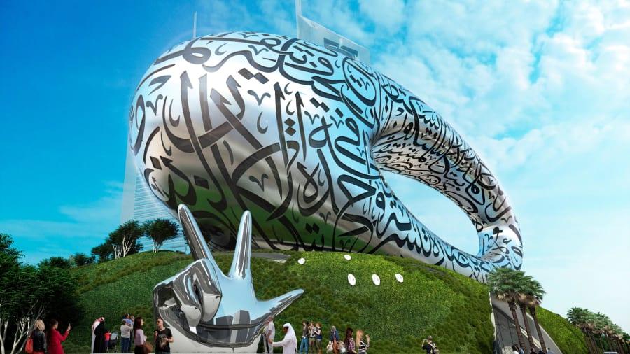 Bảo tàng sẽ là một công trình bắt mắt ở Dubai. Ảnh: Tổ chức Tương lai Dubai