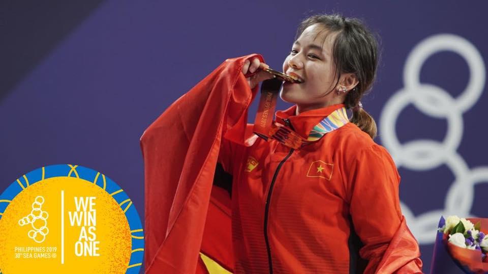 """Ngày thi đấu thứ 3 SEA Games 30: """"Cơn mưa vàng"""" giúp Việt Nam vững vàng ở vị trí thứ 2"""