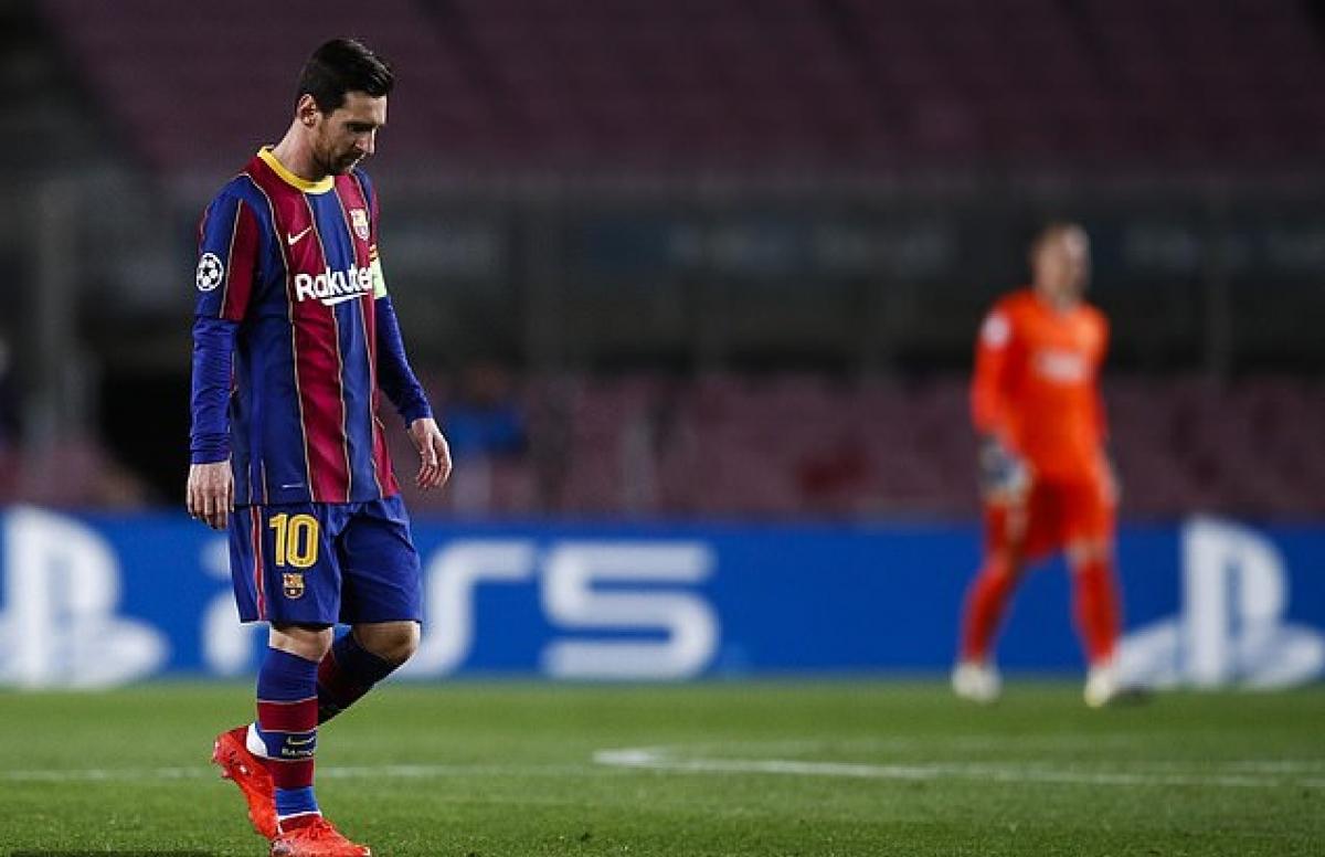 Barca thêm một mùa giải thất bát, đã là quá đủ để quyết định tương lai Messi? | baotintuc.vn
