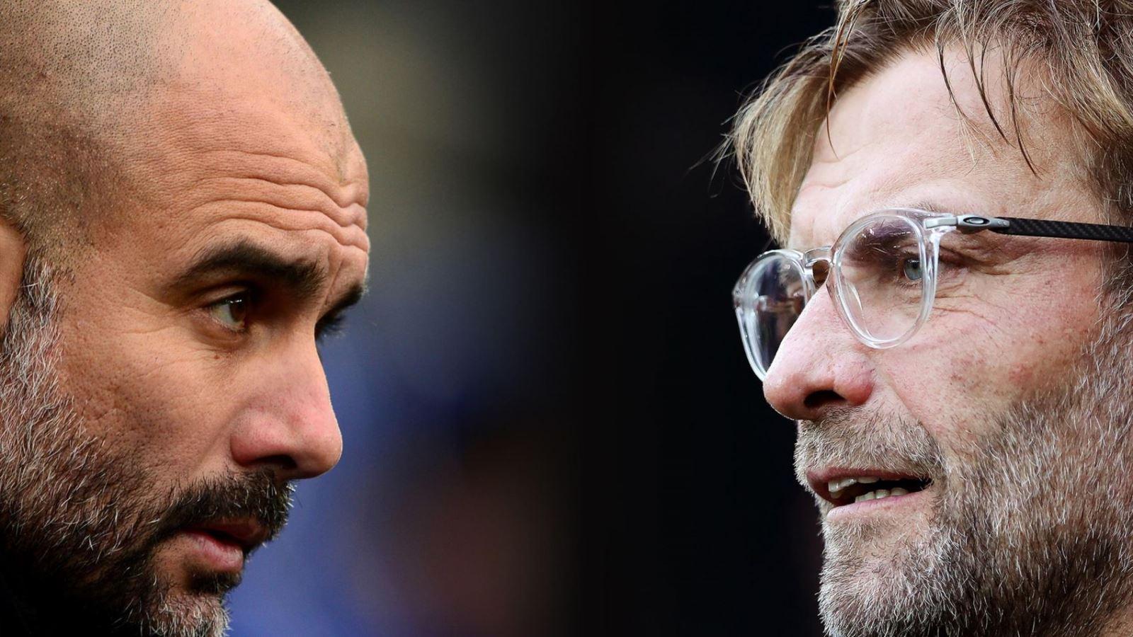 Man City và Liverpool tạo nên cuộc đua đến ngôi vương Ngoại hạng Anh hấp dẫn đến những vòng cuối. Ảnh: DM