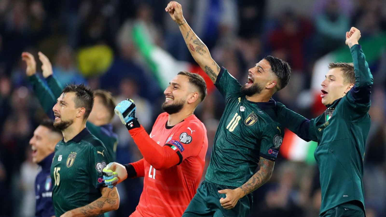 Vòng loại EURO 2020: Italy giành vé sớm, Tây Ban Nha rơi chiến ...
