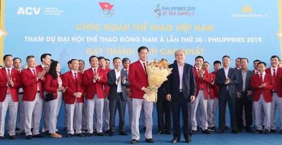 Lễ tiễn Đoàn Thể thao Việt Nam lên đường dự SEA Games 30