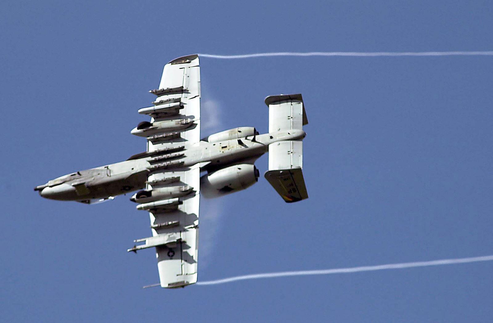 Máy bay A-10 Thunderbolt II. Ảnh: USAF