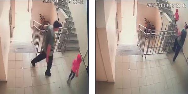 Khoảnh khắc tên ấu dâm theo bé gái về tận nhà rối bế đi xâm hại