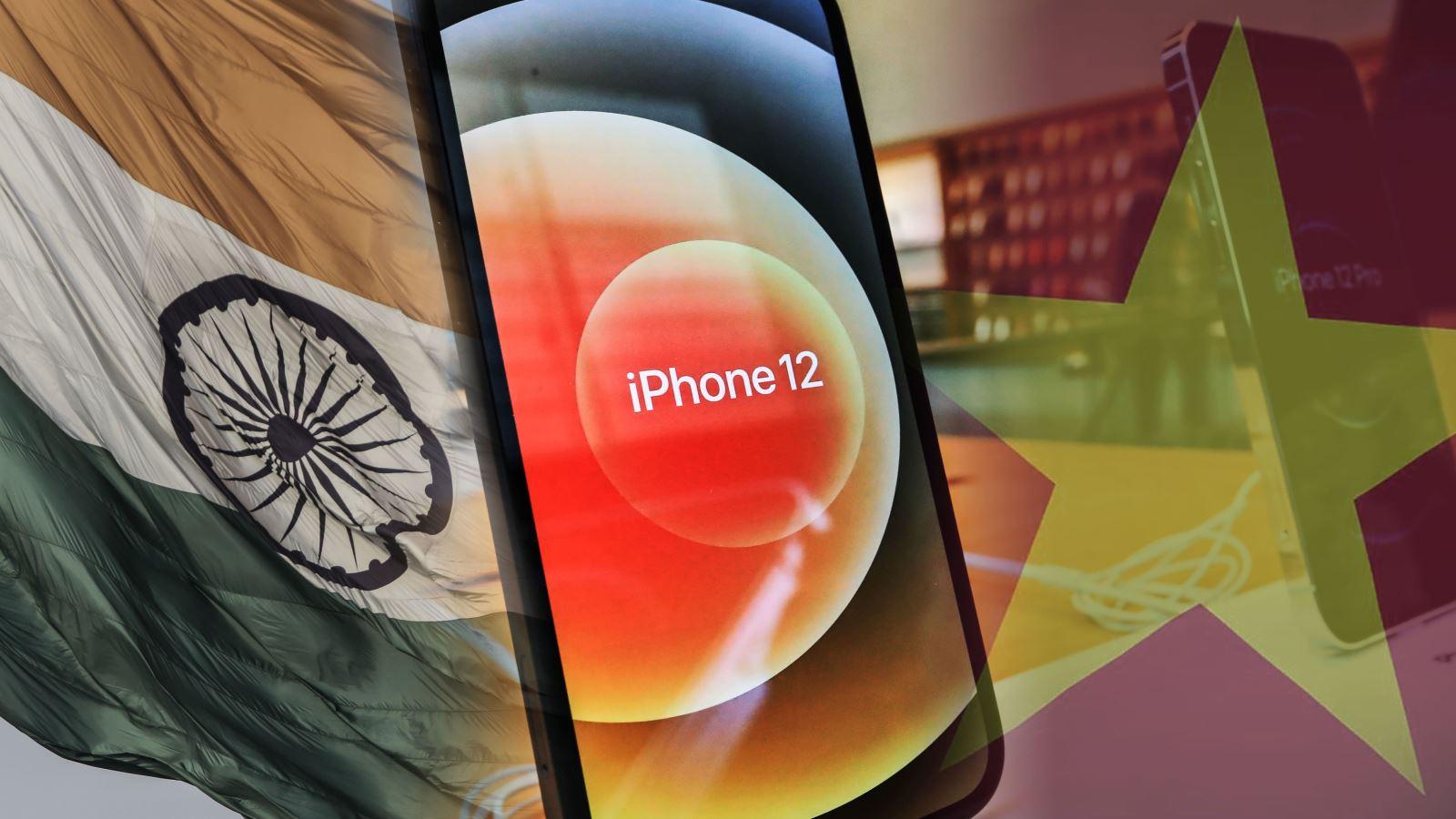 Báo Nhật Bản: Apple đẩy mạnh chuyển dịch sản xuất sang Ấn Độ và Việt Nam