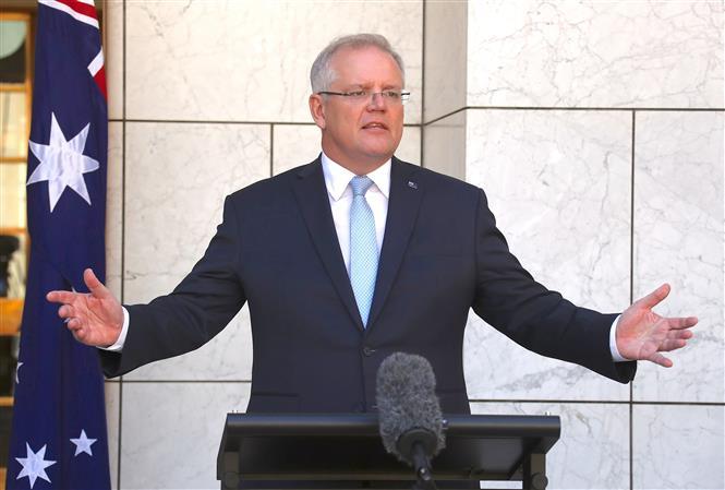 Thủ tướng Australia công bố kế hoạch tiêm chủng cho toàn bộ dân