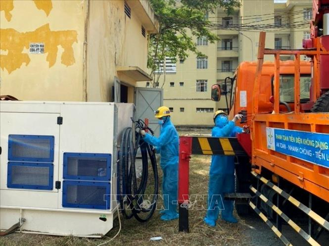TP Hồ Chí Minh hoàn thành cấp điện ưu tiên cho các bệnh viện dã chiến mới