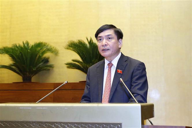 Tổng Thư ký Quốc hội, Chủ nhiệm Văn phòng Quốc hội Bùi Văn Cường