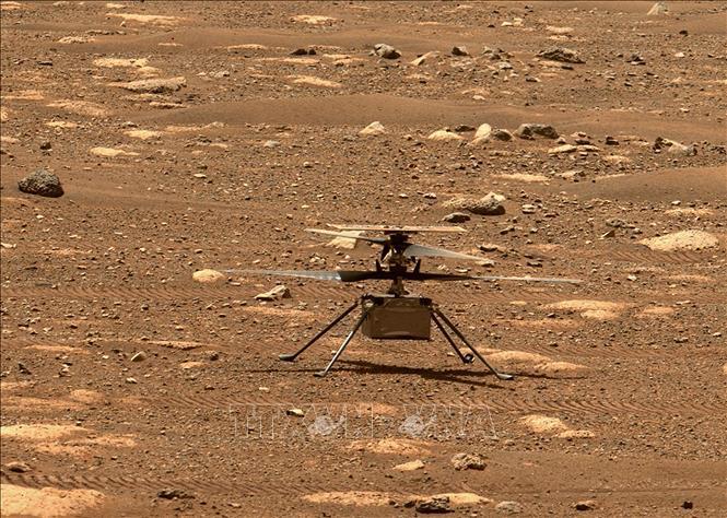 Thiết bị trực thăng Ingenuity của NASA hạ cánh thành công trên Sao Hỏa