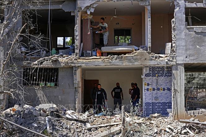 Pháp hối thúc Israel và Palestinethỏa thuận ngừng bắn