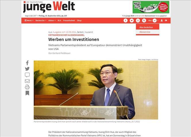 Chuyến thăm châu Âu Chủ tịch Quốc hội Vương Đình Huệ thể hiện chính sách đa dạng