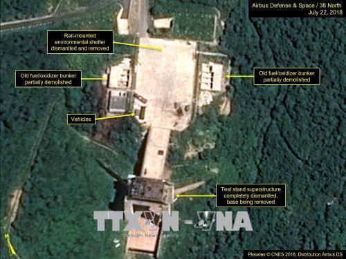 Hàn Quốc hoan nghênh thông tin Triều Tiên dỡ bỏ bãi thử hạt nhân