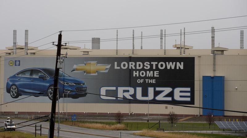 Mỹ đe dọa cắt giảm thuế ưu đãi dành cho hãng ô tô General Motors