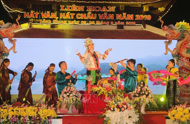 Khai mạc liên hoan hát Văn, hát Chầu văn toàn quốc năm 2019
