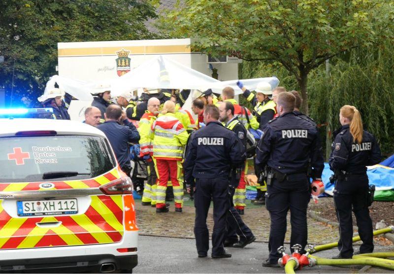 Nổ lớn tại lễ hội Backesfest, ít nhất 14 người bị thương, nguy kịch vì bỏng nặng