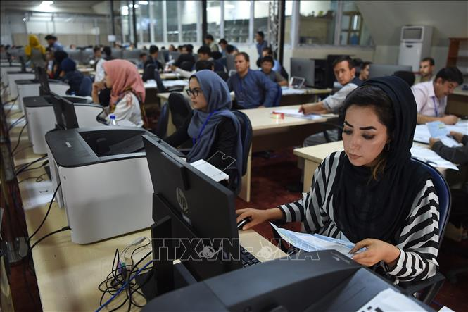 Afghanistan hoãn công bố kết quả sơ bộcủa cuộc bầu cử tổng thống