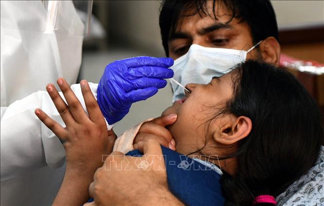 Dịch COVID-19:Ấn Độ ghi nhận số ca nhiễm cao nhất trong một ngày