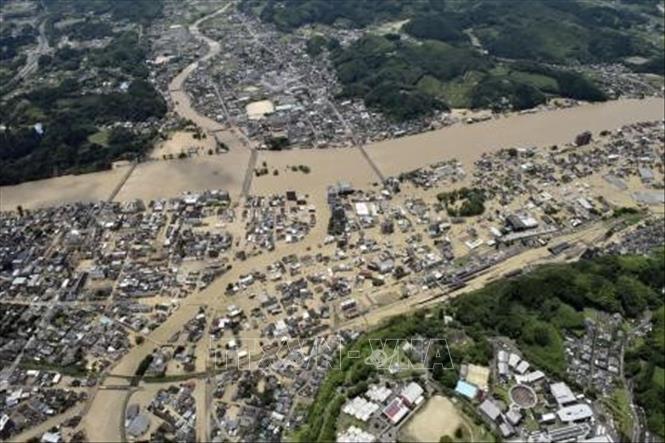 Nhật Bản: Số người thiệt mạng do mưa lũ tăng cao