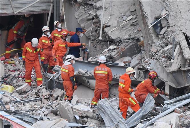 Trung Quốc cáo buộc hàng chục đối tượng trong vụ sập khách sạn cách ly