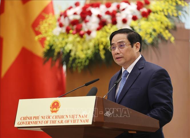 Thủ tướng Phạm Minh Chính. Ảnh: Dương Giang/TTXVN