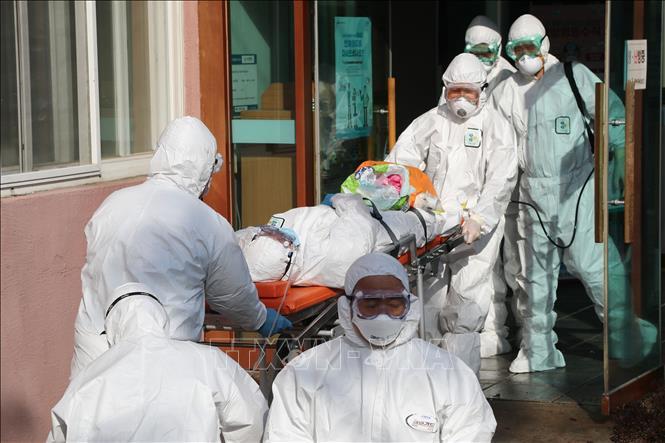 Hàn Quốc thêm 123 ca nhiễm nCoV, nâng tổng số lên 556 ca