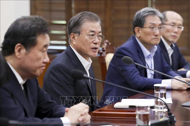 Tổng thống Moon Jae-in công bố ''Thỏa thuận mới'' phiên bản Hàn Quốc