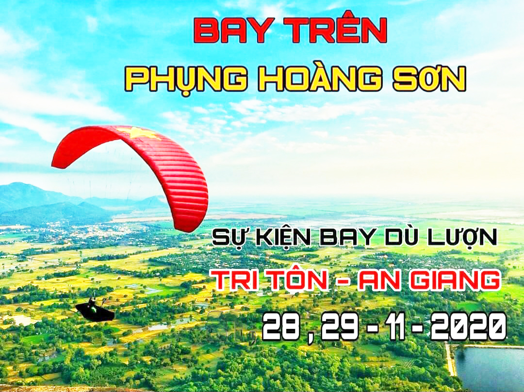 ''Bay trên Phụng Hoàng Sơn'' - chương trình biểu diễn dù lượn thể thao đầu tiên