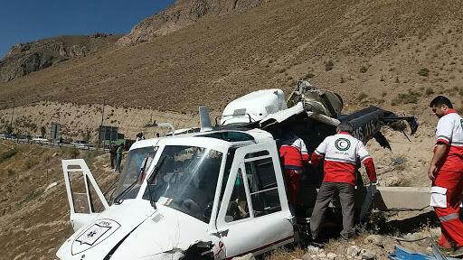 Rơi trực thăng chở các hòm phiếu ở Iran, nhiều người thương vong