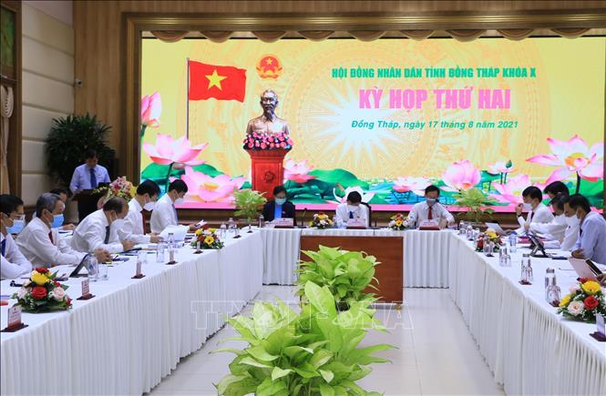 Hội đồng nhân dân tỉnh Đồng Tháp thông qua 39 nghị quyết