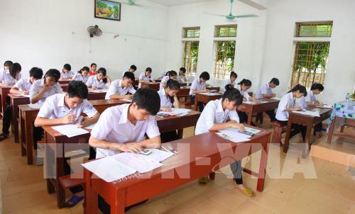 Kiểm tra công tác chuẩn bị thi THPT quốc gia tại Phú Thọ
