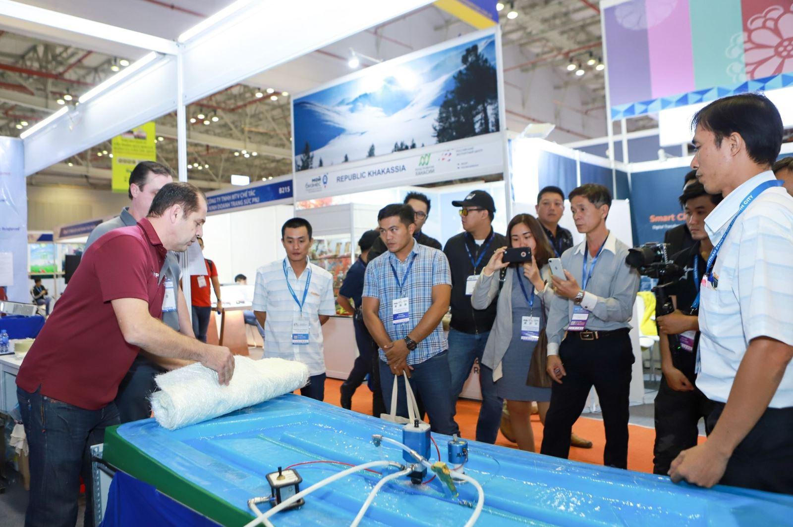 Vietnam Expo 2020 kết nối 'từ xa' với doanh nghiệp quốc tế