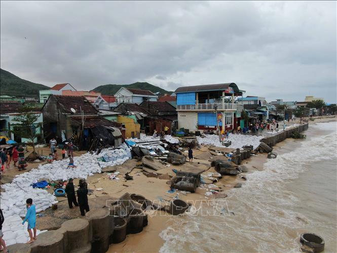 Ứng phó với mưa lũ và khắc phục hậu quả bão số 5