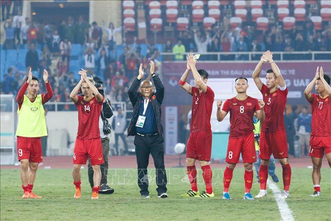"""Đội tuyển Việt Nam được """"thưởng nóng"""" 2 tỷ đồng sau trận thắng UAE"""