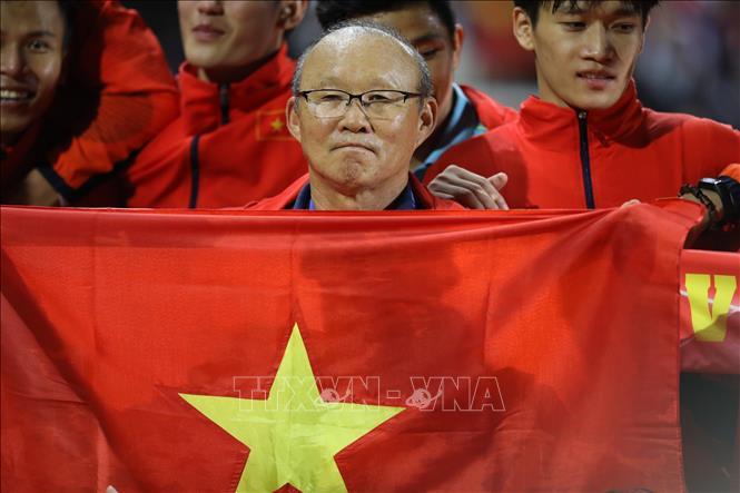 """Quê hương thầy Park """"phát cuồng"""" với chiến tích của U22 Việt Nam"""