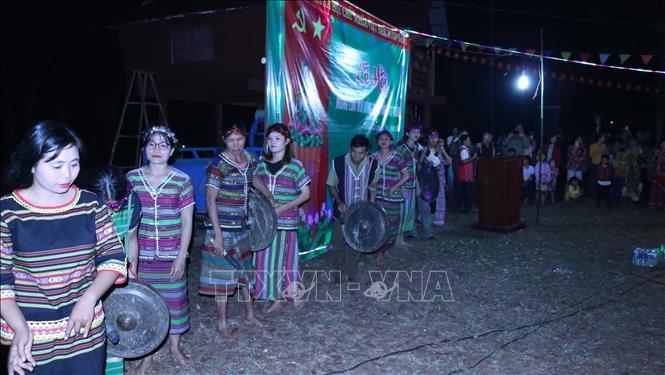 Nét đẹp truyền thống trong Lễ cúng lúa mới của đồng bào S'tiêng ảnh 2