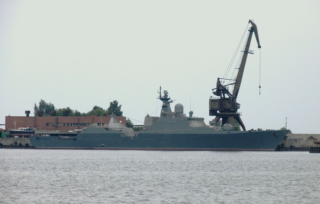 Hạm đội Biển Đen của Nga xác nhận tàu hộ tống tên lửa đi vào Địa Trung Hải