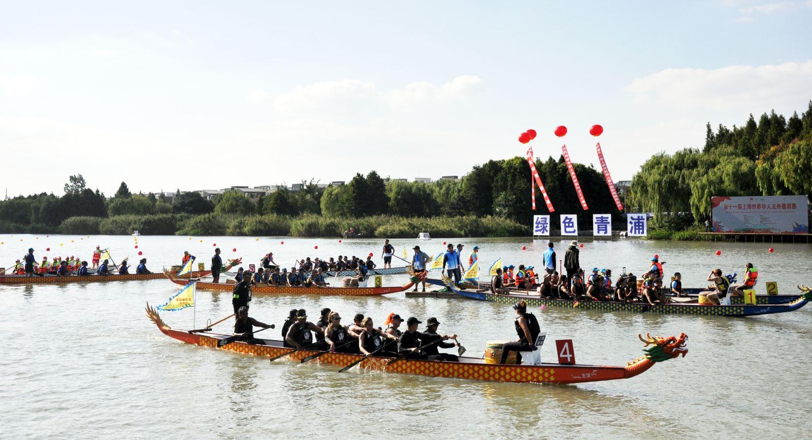 Vietnam Airlines tham gia Giải đua thuyền rồng quốc tế Thượng Hải