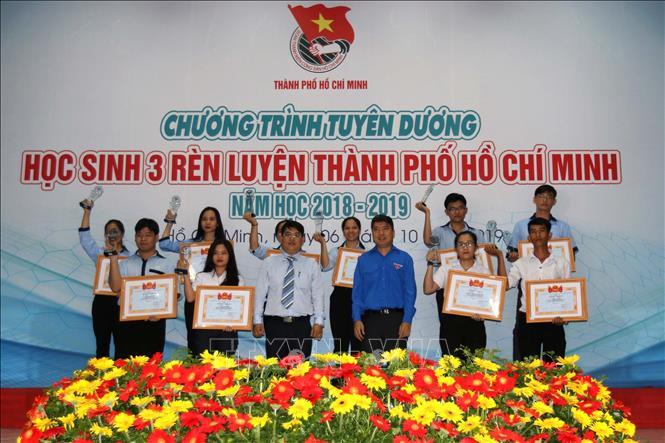TP Hồ Chí Minh tuyên dương 37 gương điển hình ''học sinh 3 rèn luyện''