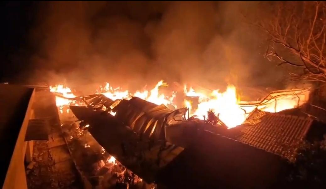Quảng Ngãi: Cháy lớn tại xưởng nệm của Công ty trách nhiệm hữu hạn Hiệp Sơn