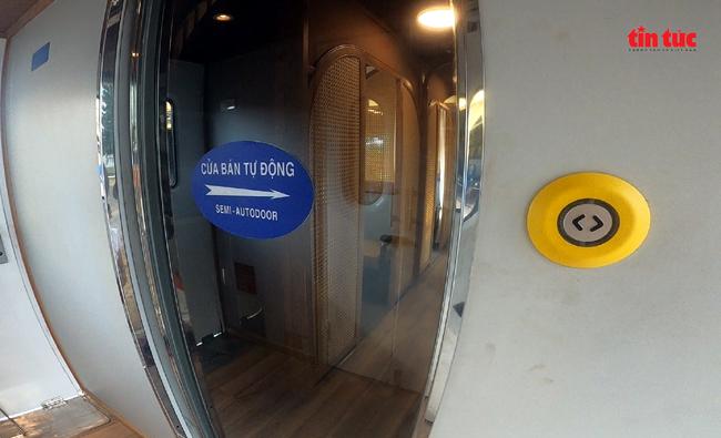 Cận cảnh toa tàu lửa có quầy bar và ghế massage thư giãn cho khách đầu tiên ở Việt Nam - ảnh 3