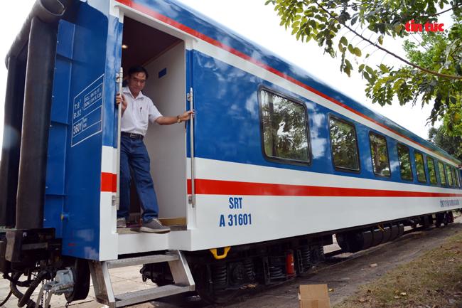 Cận cảnh toa tàu lửa có quầy bar và ghế massage thư giãn cho khách đầu tiên ở Việt Nam - ảnh 14