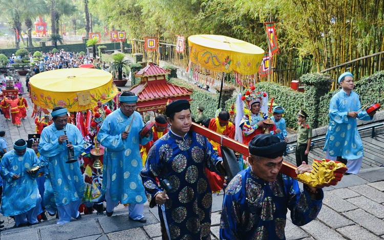 TP Hồ Chí Minh tổ chức nhiều hoạt động nhân dịp Giỗ Tổ Hùng Vương